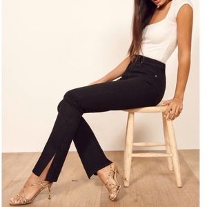 Reformation flare jeans